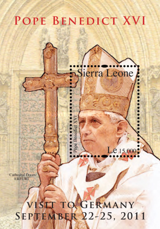 [Pope Benedict XVI Visits Germany, Typ ]
