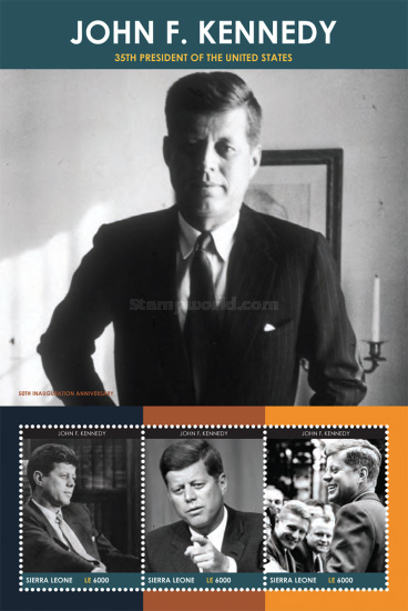 [The 50th Anniversary of the Inauguration of J. F. Kennedy, 1917-1963, Typ ]