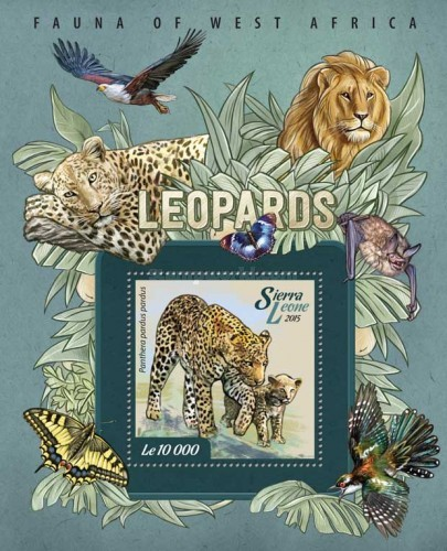 [Fauna of West Africa - Leopards, Typ ]