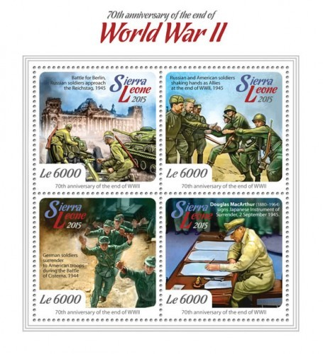 [World War II - The 70th Anniversary of the End of the Second World War, Typ ]