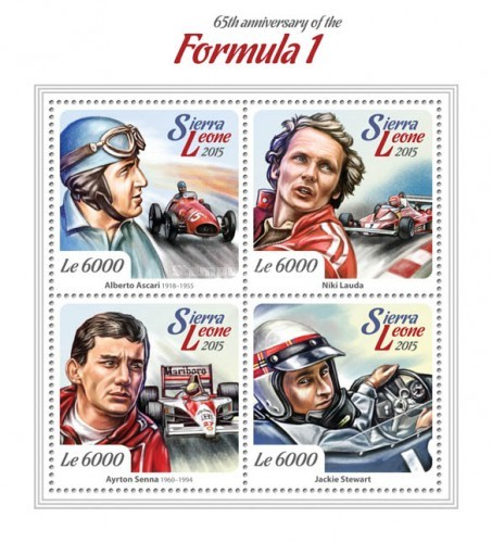 [Sports - The 65th Anniversary of Formula 1, Typ ]