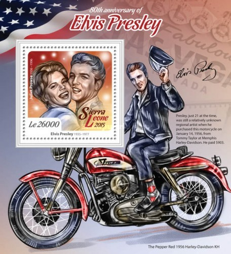 [The 80th Anniversary of the Birth of Elvis Presley, 1935-1977, Typ ]