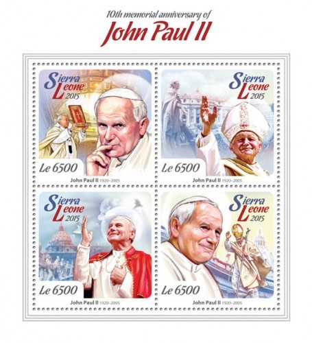 [The 10th Anniversary of the Death of John Paul II, 1920-2005, Typ ]