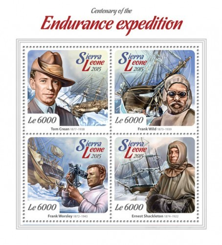[The 100th Anniversary of Endurance Expedition, Typ ]