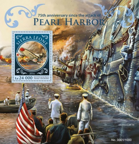 [World War II - The 75th Anniversary Since the Attack of Pearl Harbor, Typ ]