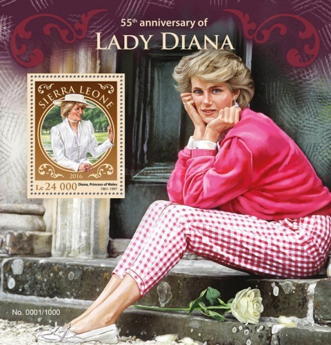 [The 55th Anniversary of the Birth of Lady Diana, 1961-1997, Typ ]