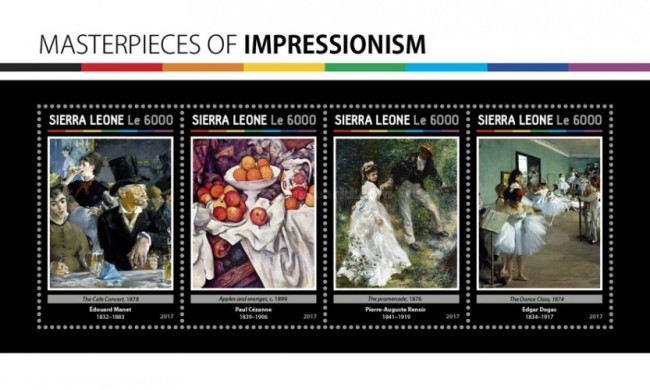 [Paintings - Masterpieces of Impressionism, Typ ]