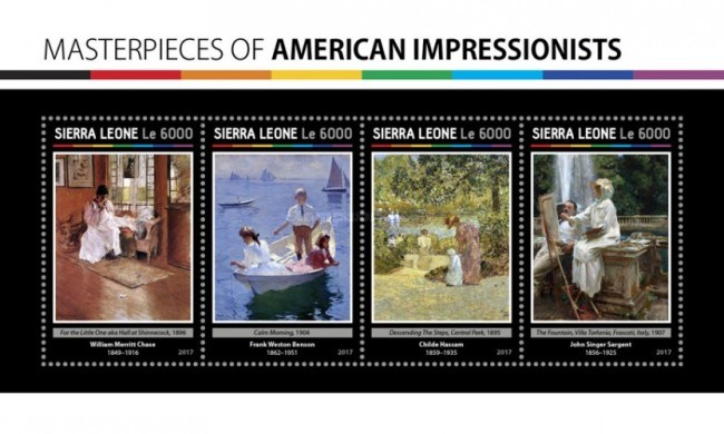 [Paintings - Masterpieces of American Impressionists, Typ ]