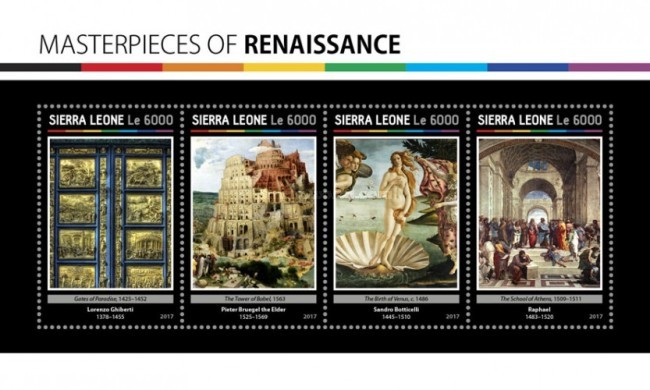 [Paintings - Masterpieces of Renaissance, Typ ]