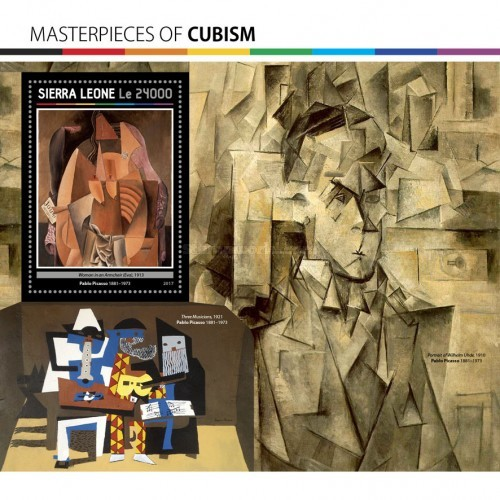 [Paintings - Masterpieces of Cubism, Typ ]