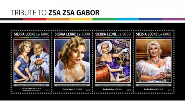 [Tribute to Zsa Zsa Gabor, 1917-2016, Typ ]