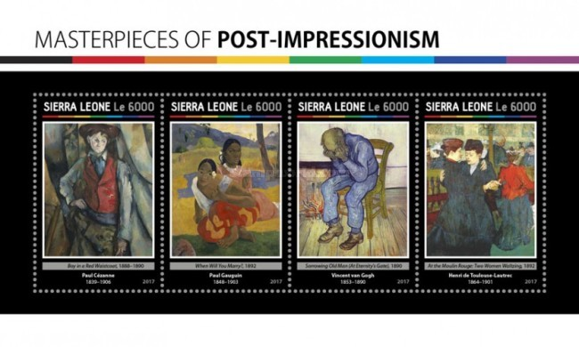[Paintings - Masterpieces of Post-Impressionism, Typ ]