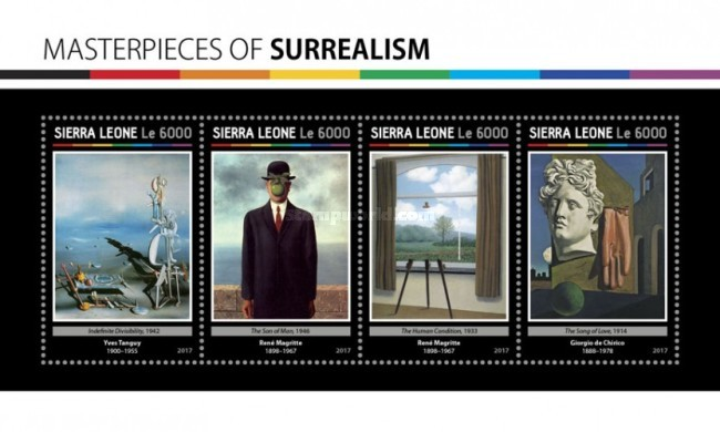 [Paintings - Masterpieces of Surrealism, Typ ]