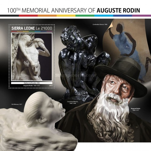 [The 100th Anniversary of the Death of Auguste Rodin, 1840-1917, Typ ]