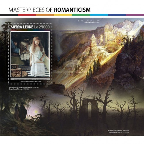 [Paintings - Masterpieces of Romanticism, Typ ]