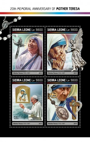 [The 20th Anniversary of the Death of Mother Teresa, 1910-1997, Typ ]