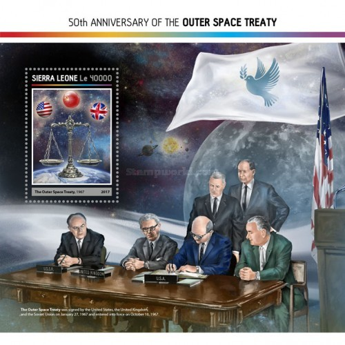 [The 50th Anniversary of the Outer Space Treaty, Typ ]