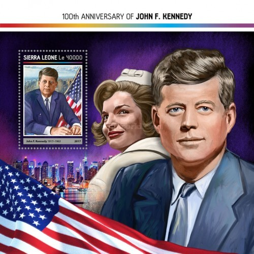 [The 100th Anniversary of the Birth of John F. Kennedy, 1917-1963, Typ ]
