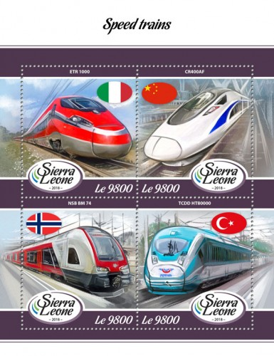 [Transportation - Speed Trains, type ]