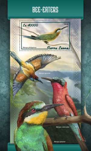 [Birds - Bee-Eaters, Typ ]