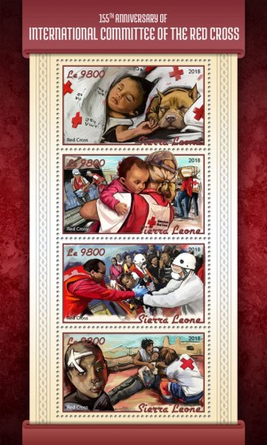 [The 155th Anniversary of International Committee of the Red Cross, type ]