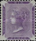 [Queen Victoria - Different Perforation, Typ A2]