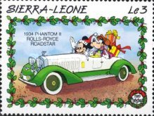 [Christmas - Walt Disney Cartoon Characters with Cars, Typ AEQ]
