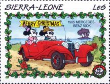 [Christmas - Walt Disney Cartoon Characters with Cars, Typ AER]