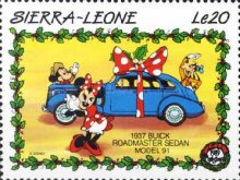 [Christmas - Walt Disney Cartoon Characters with Cars, Typ AEU]