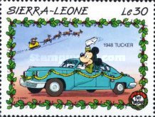 [Christmas - Walt Disney Cartoon Characters with Cars, Typ AEV]