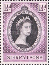 [Coronation of Queen Elizabeth II, Typ AM]
