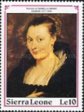 [The 350th Anniversary of the Death of Peter Paul Rubens, 1577-1640, Typ ANE]