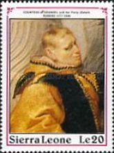 [The 350th Anniversary of the Death of Peter Paul Rubens, 1577-1640, Typ ANF]