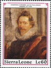 [The 350th Anniversary of the Death of Peter Paul Rubens, 1577-1640, Typ ANG]