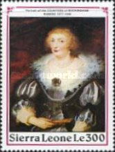 [The 350th Anniversary of the Death of Peter Paul Rubens, 1577-1640, Typ ANK]