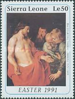 [Easter - The 350th Anniversary (1990) of the Death of Peter Paul Rubens, 1577-1640, Typ AOI]