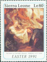 [Easter - The 350th Anniversary (1990) of the Death of Peter Paul Rubens, 1577-1640, Typ AOJ]