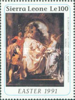 [Easter - The 350th Anniversary (1990) of the Death of Peter Paul Rubens, 1577-1640, Typ AOK]