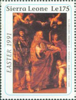[Easter - The 350th Anniversary (1990) of the Death of Peter Paul Rubens, 1577-1640, Typ AOL]