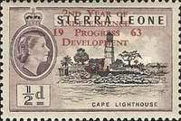 """[The 2nd Anniversary of Independence - Issues of 1956 Overprinted """"2ND YEAR OF INDEPENDENCE PROGRESS DEVELOPMENT 1963"""" and Surcharged Value, type AS1]"""