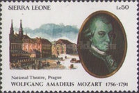 [The 200th Anniversary of the Death of Wolfgang Amadeus Mozart, 1756-1791, Typ ATL]