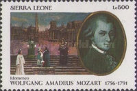 [The 200th Anniversary of the Death of Wolfgang Amadeus Mozart, 1756-1791, Typ ATN]