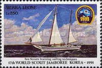 [World Scout Jamboree, South Korea and the 50th Anniversary of the Death of Lord Baden-Powell, 1857-1941, Typ ATP]