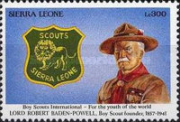 [World Scout Jamboree, South Korea and the 50th Anniversary of the Death of Lord Baden-Powell, 1857-1941, Typ ATQ]