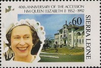 [The 40th Anniversary of Queen Elizabeth II's Accession, Typ AVG]
