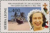 [The 40th Anniversary of Queen Elizabeth II's Accession, Typ AVJ]