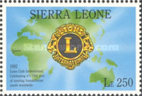 [The 75th Anniversary of International Association of Lions Clubs, type BCB]