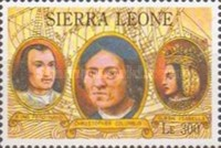 [The 500th Anniversary of Discovery of America by Columbus, Typ BCC]