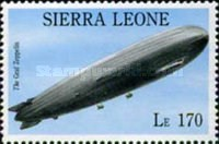 [The 75th Anniversary of the Death of Count Ferdinand von Zeppelin (Airship Pioneer), 1838-1917, Typ BCF]