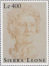 [The 95th Anniversary of the Birth of Queen Elizabeth the Queen Mother, 1900-2002, Typ BSC]